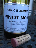 Oak Summit Estate Bottled Pinot Noir