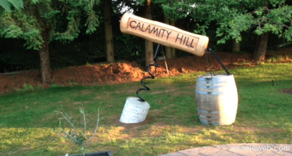 Calamity Hill Vineyard Oregon's Largest Corkscrew?